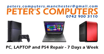 Peter's Computers - Computer and PS4 Repairs - Peter's